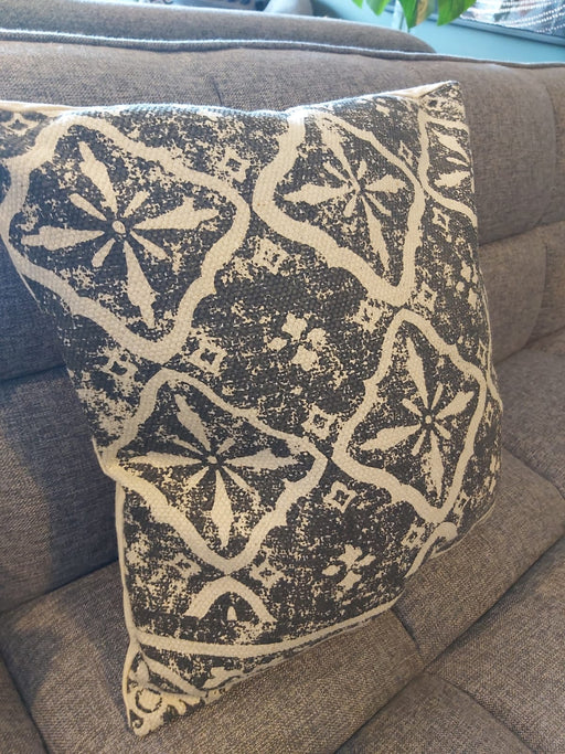 Powerloom Black & Off White Print Cushions - Decor Interiors -  House & Home