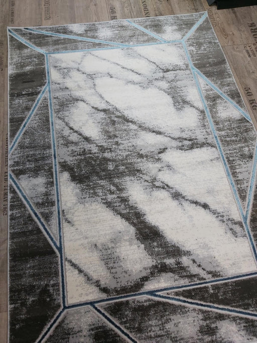 Marbled Effect Abstract Rug - Decor Interiors -  House & Home