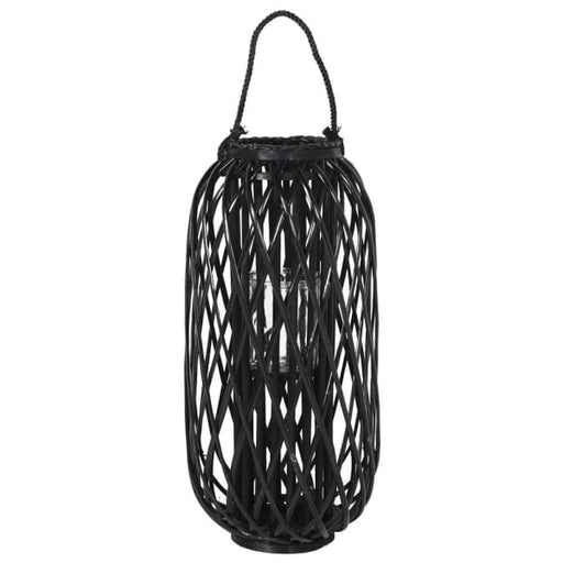 Black Willow Lantern - Decor Interiors -  House & Home