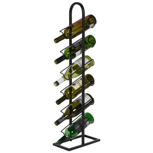 Industrial Style 6 Bottle Metal Wine Rack - Decor Interiors -  House & Home