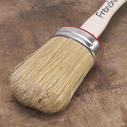 Frenchic Medium Oval Brush - 50mm - Decor Interiors -  House & Home