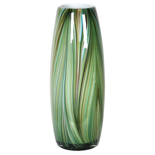 Waves of Green Tall Vase - Decor Interiors -  House & Home