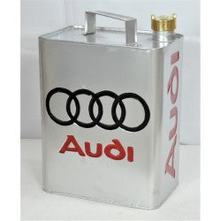 Vintage Style Petrol / Oil Jerry can - Silver Audi - Decor Interiors -  House & Home