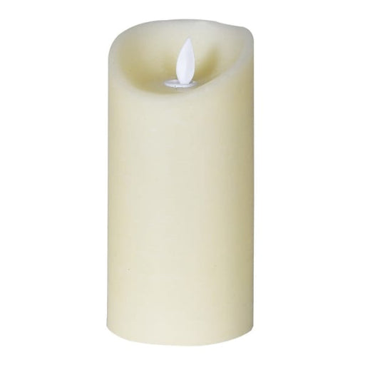15cm Ivory LED Candle - Decor Interiors -  House & Home