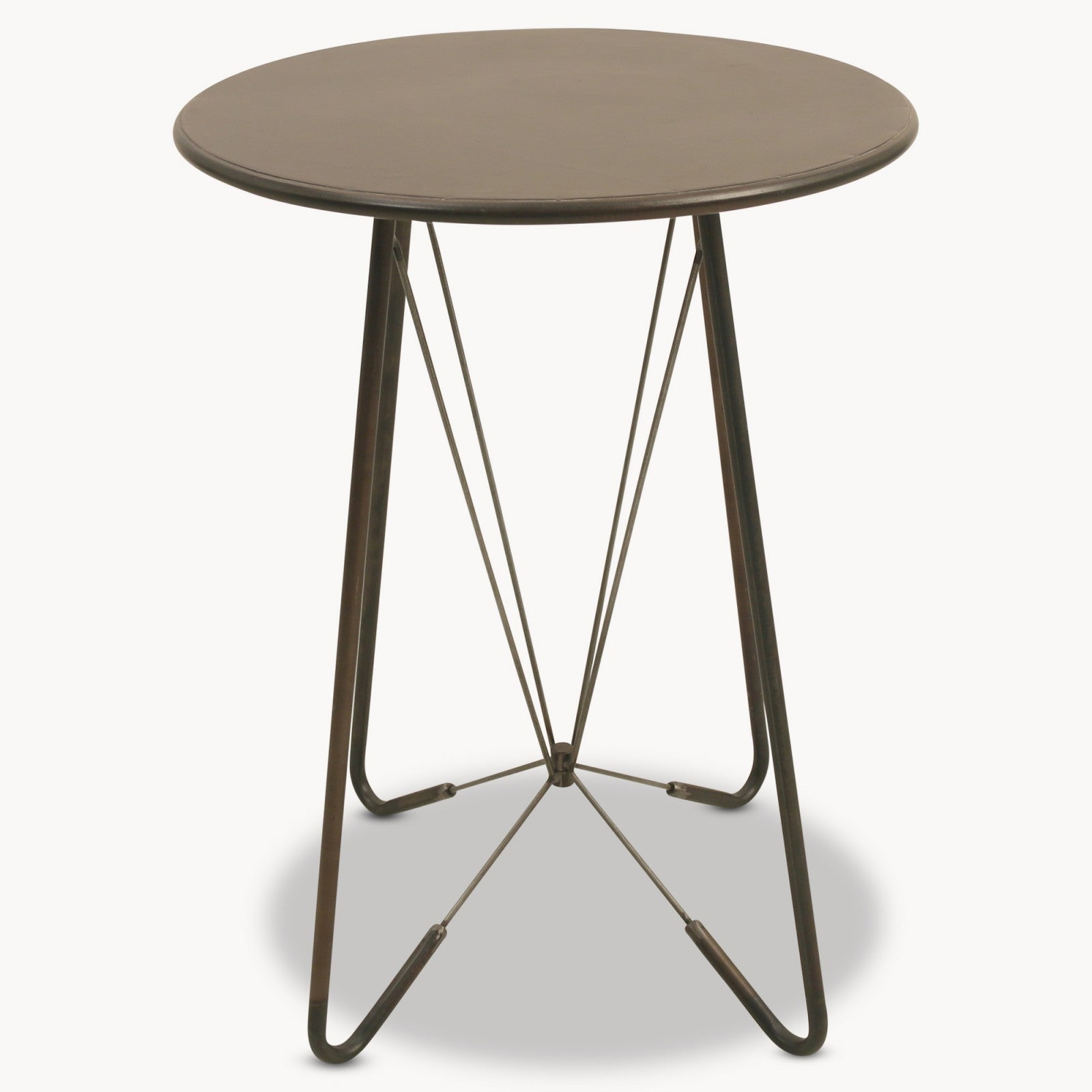 Granville Round Metal Side Table Decor Interiors House Home