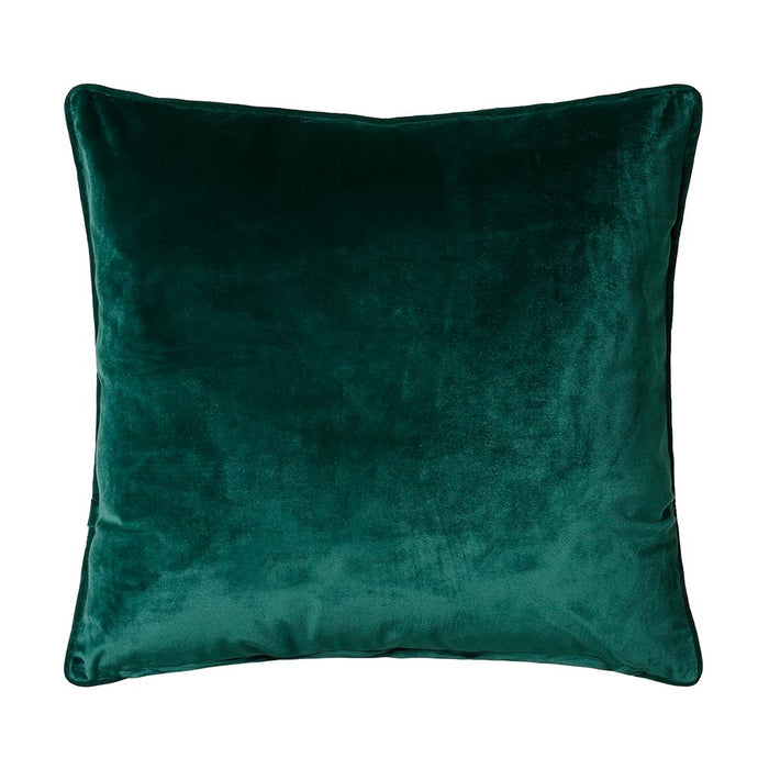 Bellini Velour 45x45cm Cushion, Emerald - Decor Interiors -  House & Home