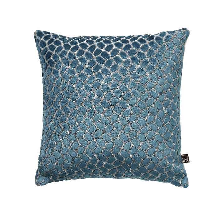 Lapis 43x43cm Cushion, Teal - Decor Interiors -  House & Home