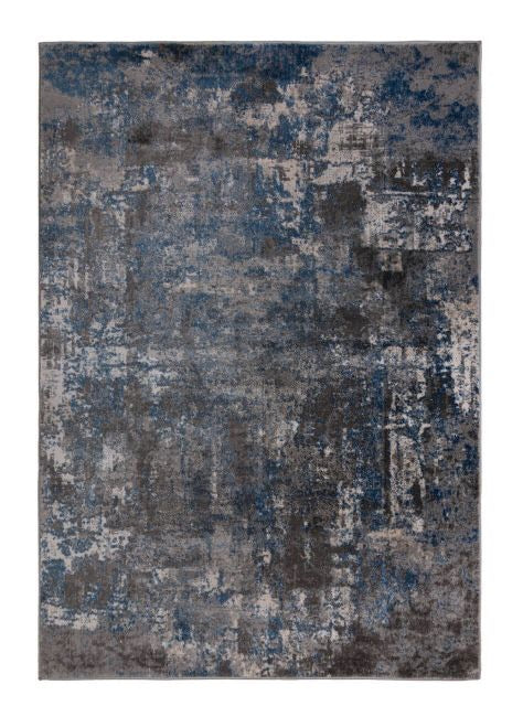 Modern Abstract Rugs in Blue Grey 120x170cm - Decor Interiors -  House & Home