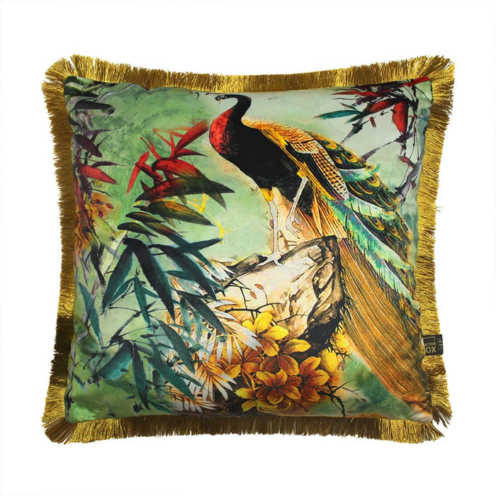 Shiva 45x45cm Cushion, Green - Decor Interiors -  House & Home
