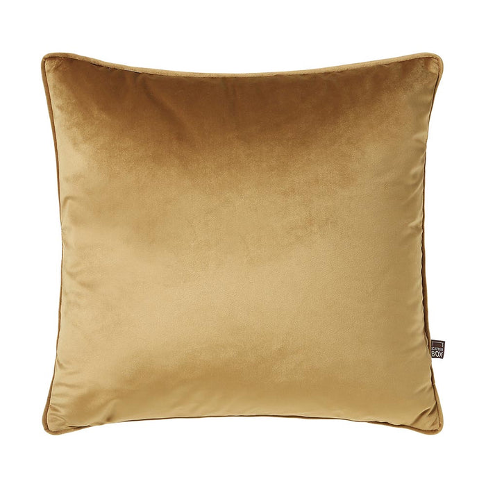 Bellini Velour 45x45cm Cushion, Antique Gold - Decor Interiors -  House & Home