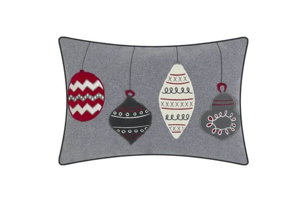 Juniper Baubles Embroidered Cushion - Decor Interiors -  House & Home