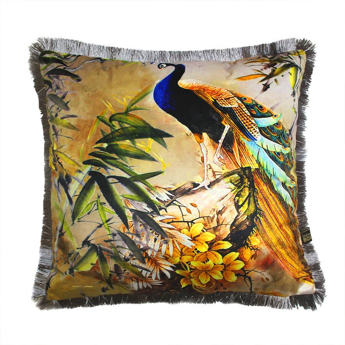 Shiva 45x45cm Cushion, Blue - Decor Interiors -  House & Home