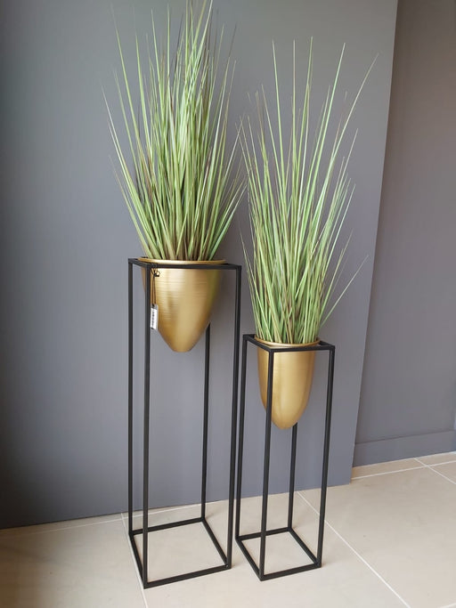 Large Faux Potted Grass - Decor Interiors -  House & Home