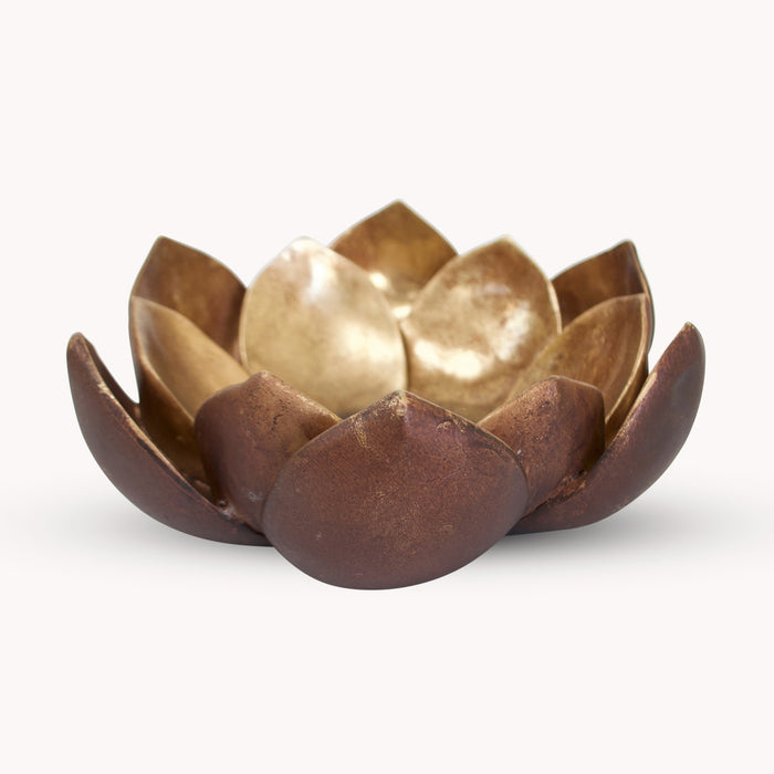 KENTON LOTUS CANDLE HOLDER - Decor Interiors -  House & Home