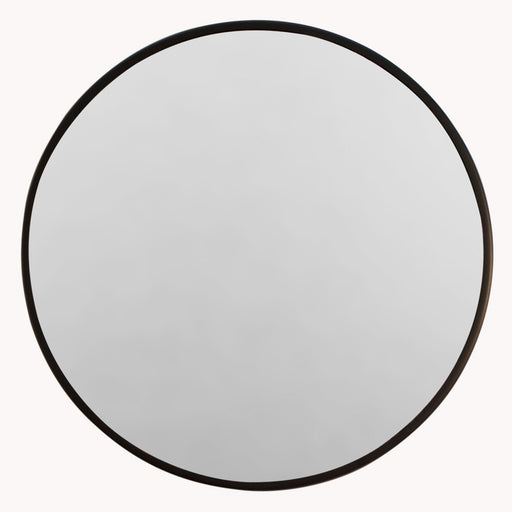 Lexington Small Round Black Wall Mirror - Decor Interiors -  House & Home