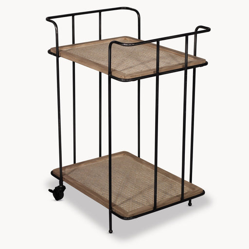 Fairfields Metal & Wood Drinks Trolley - Decor Interiors -  House & Home