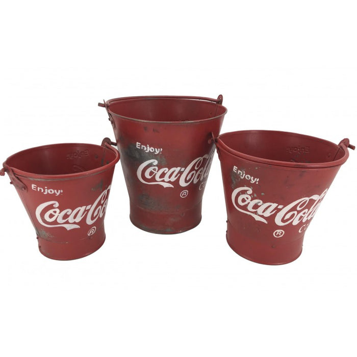 Set of 3 Cola Cola Trunks - Decor Interiors -  House & Home