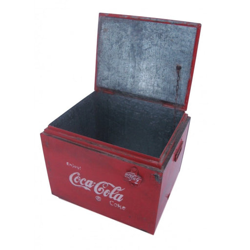 Vintage Style Large Coke Drinks Cooler - Decor Interiors -  House & Home
