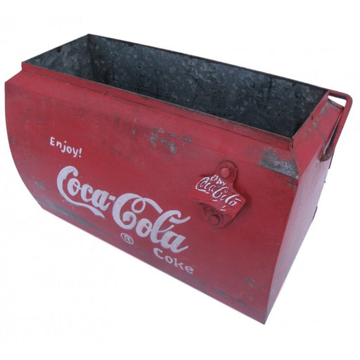 Vintage Style Small Coke Drinks Cooler - Decor Interiors -  House & Home