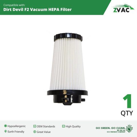 ZVac Dirt Devil F2 Filter 3SFA11500X