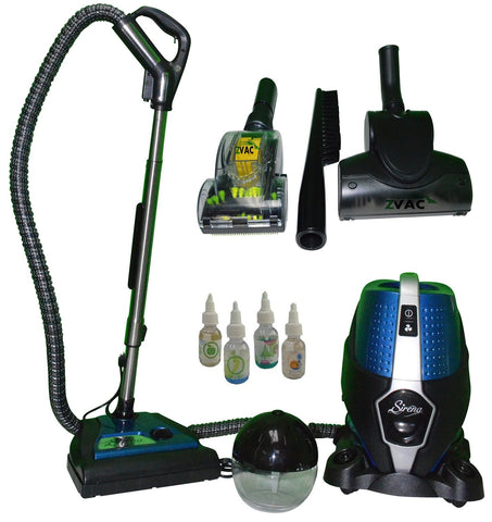 Sirena ZVac Ultimate Pet Edition Vacuum. Bonus Attachments, Aroma Air Purifier & More. Including Carpets, Dogs, Cats, Rugs, Hard Surfaces & More. Sirena S10A S10 (Sirena ZVac Ultimate Pet Edition)