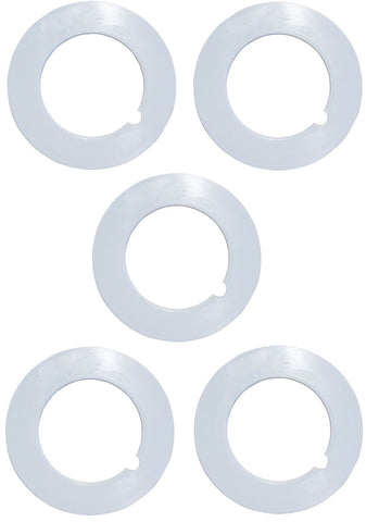 5 Central Vacuum Cleaner Pipe Collar For All Central Vacuum Systems Including Electrolux Eureka Filtex Frigidaire Hayden Honeywell Imperium MD Nadair Nutone ZVac (5, Pipe Collar) - ZVac