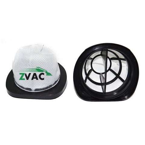 2 Bissell HEPA Style 38B1 Vacuum Filters Fit 3 in 1 Lightweight Stick Vacuum, Compare to Part # 203-7423 Made by ZVac - ZVac