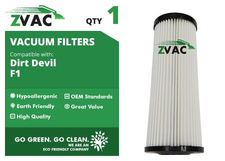 Dirt Devil F1 Washable HEPA Filter 3JC0280000 UPC 608939746855 by ZVac - ZVac