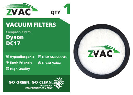 Dyson DC17 Washable Premotor Filter 911236-01 by ZVac - ZVac