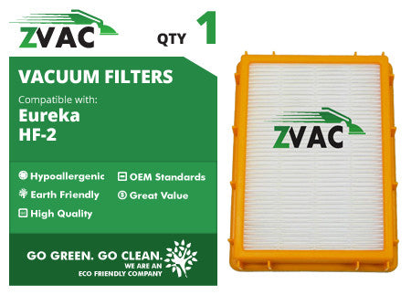 Eureka HF-2 HEPA Filter 61111 by ZVac - ZVac