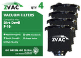 Dirt Devil F16 HEPA Filter & FOAM Filter 2JW1000000 by ZVac - ZVac