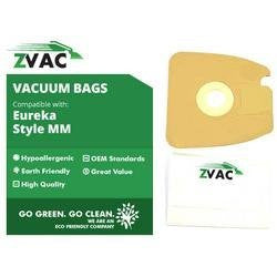 Eureka Style MM Might Mite MicroFiltration Permium Vacuum Bags; Fits Eureka Mighty Mite 3670 and 3680 Series Canisters; Similar to Part# 60297A , 60295, 60296, 60297, 60295B by Zvac - ZVac