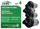 Kenmore DCF1 / DCF2 ZVac Washable HEPA 82720 Filters 4 Pack