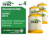 Eureka DCF-3 HEPA Filter - Similar to Eureka Part# 61825, 62136, 62136A, DCF3 - Made by Zvac - ZVac