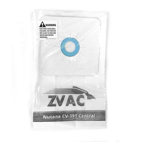 Nutone Central Vacuum Cleaner Bags 3 bags in pack