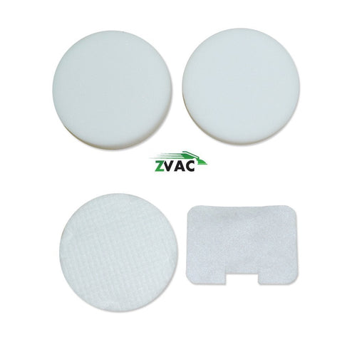Shark NV22L Foam and Felt Replacement Vacuum Filter Kit 4-Pack Designed To Fit Shark Navigator NV22L; Replaces Shark Vacuum Part # XF22