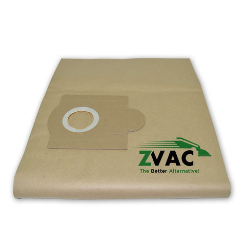 Fein Power Paper dust bag 9-77-25/9-88-35 for Turbo III (Fits similar to OEM-913048K01) Filter Bags by ZVac (Pack of 10) - ZVac