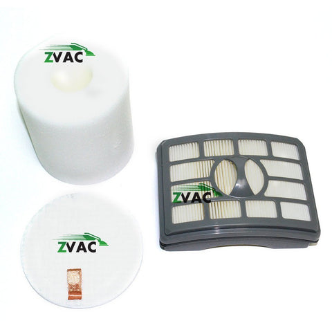 Shark Rotator Pro Lift-Away NV500 HEPA Filter & Foam Filter Kit Made by ZVac