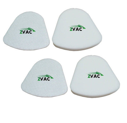 Shark Navigator Lift-Away NV350, NV351, NV352, NV355, NV356, NV356E, NV357 Washable Foam and Felt Pre-Filter Replacement Kit 4PK, Replaces Shark Part# XFF350 & XFF350NZ by ZVac