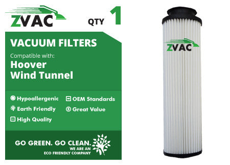 Hoover Windtunnel Washable HEPA Filter 43611042 UPC 608939746619 by ZVac - ZVac