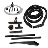 "ZVac Compatible Attachment Kit Replacement for Shark Navigator Powered Lift-Away. Premium Generic Shark Vacuum Extension Hose + Accessories Kit + Floor Brush, 24"" Flexible Crevice, Micro Attachments"