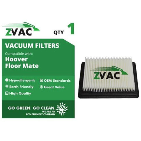 Hoover Floormate HEPA Filter 40112050 UPC 608939747180 by ZVac - ZVac