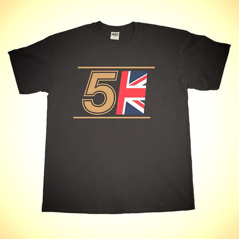 Lotus JPS Livery 5 Shirt in Black or White