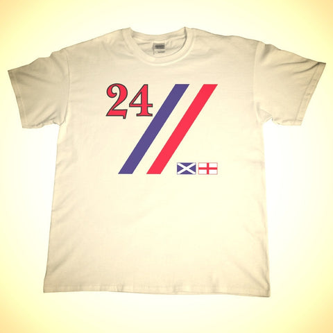 Hesketh Livery 24 Shirt in White