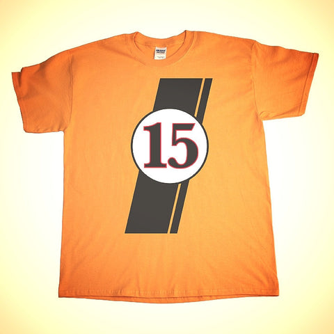Boss 302 Livery 15 Shirt in Grabber Orange