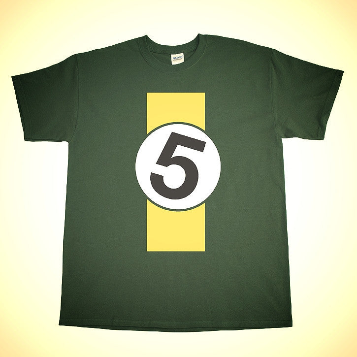 Lotus 49 Livery 5 Shirt in BRGreen