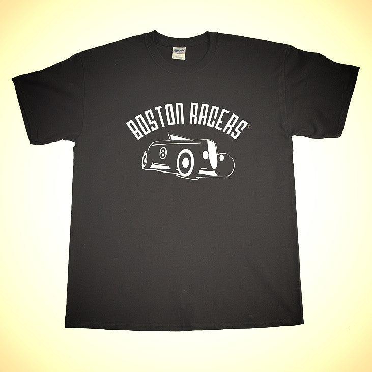 Vintage Hot Rod Shirt in White or Black