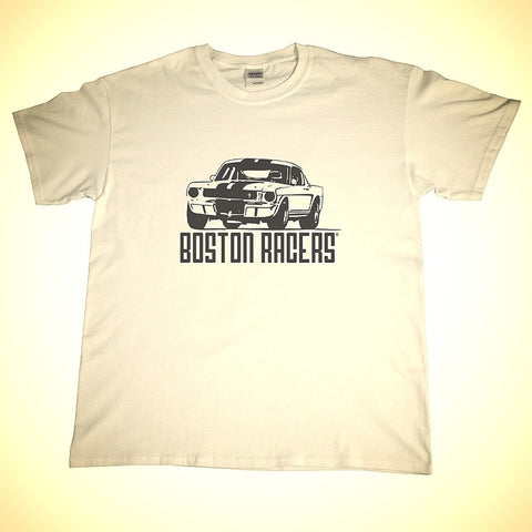 Vintage GT350 Racer Shirt in White or Black