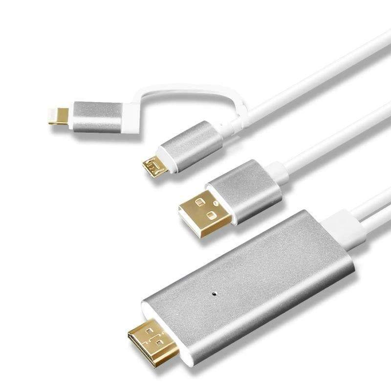 LumiProjector™ - Mobile HDMI Cable Connector/Adapter
