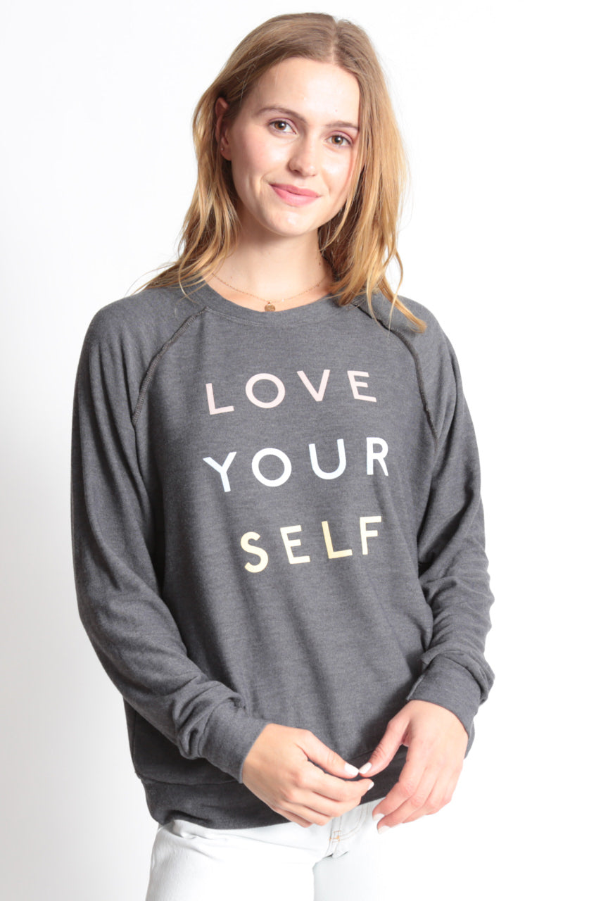 "Good Hyouman-""Love Your Self"" Long Sleeve Top"